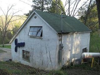 Northeast corner of garage