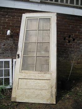 Salvaged front door